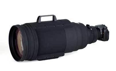 大型レンズ