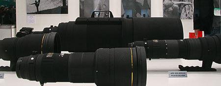 実物見た APO 200-500mm F2.8 EX DG