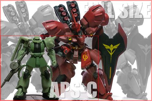 FullSize vs APS-C 比較