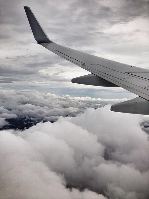 来月から飛行機に乗るときは