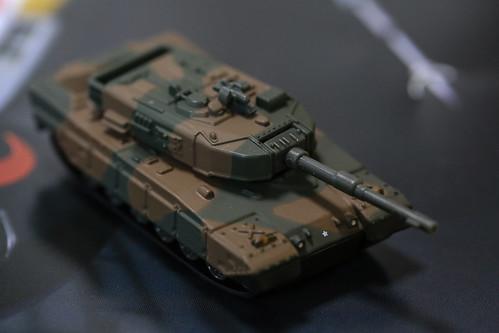 トミカプレミアム 90式戦車_02