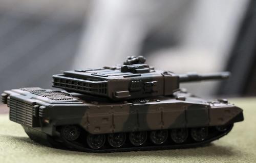トミカプレミアム 90式戦車_11