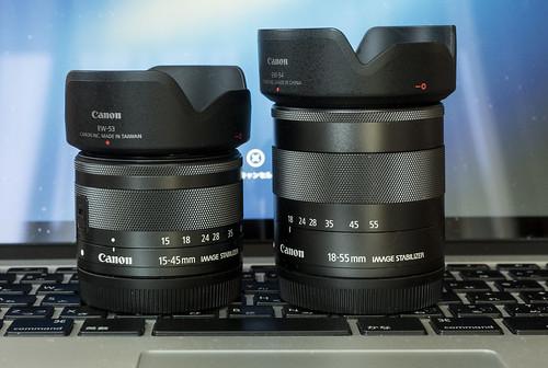 EF-M15-45mm : EF-M18-55mm_02