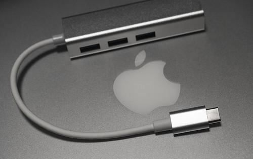 Motoraux USB-C 3.1Type to USB 3.0 Hub_01