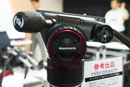 マンフロット新世代動画雲台 Nitrotech(ナイトロテック)N8