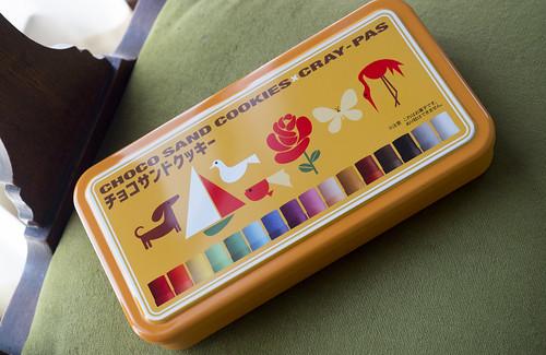 サクラクレパス コラボ チョコサンドクッキー