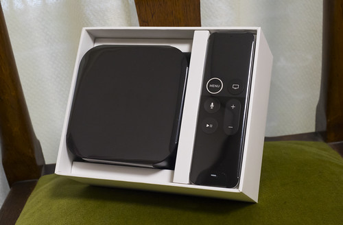 Apple TV 4Kの付属品