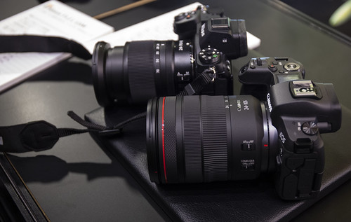 EOS R & Nikon Z