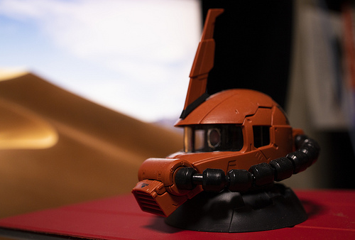 ZAKU Head by RF35mm