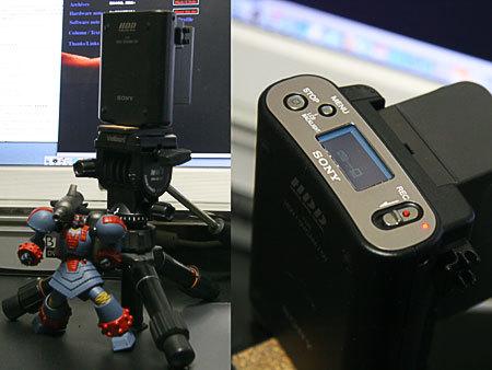 HDVカメラ用HDD