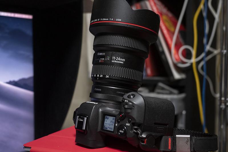 EOS R & EF11-24mm