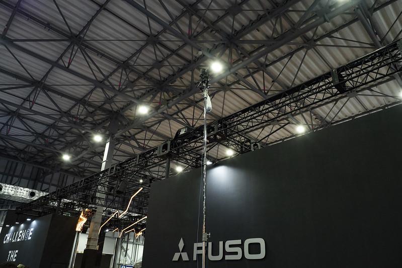 東京モーターショーで俯瞰撮影にEOS 6D Mark II リモート撮影