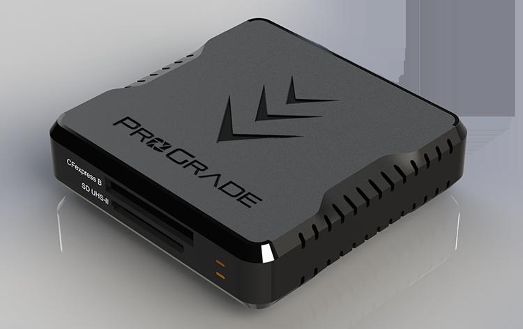CFexpress と SDXCのデュアルカードリーダー:ProGrade Digital