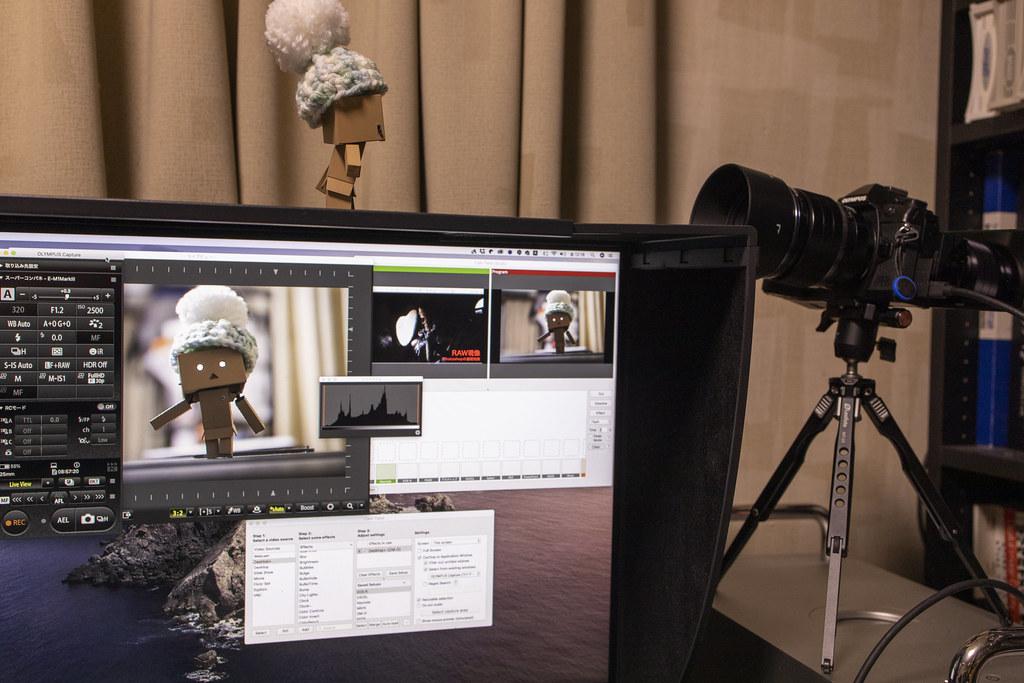 OM-D Webcam Betaを使えないMacでWEBカメラ化