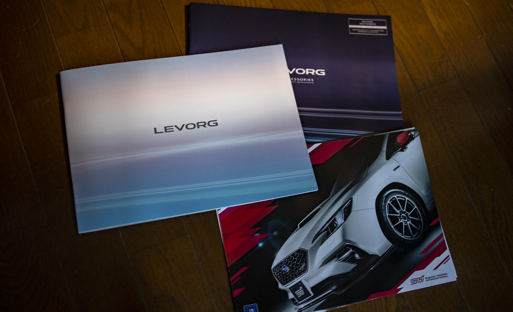 新型レヴォーグ 2020 のカタログ