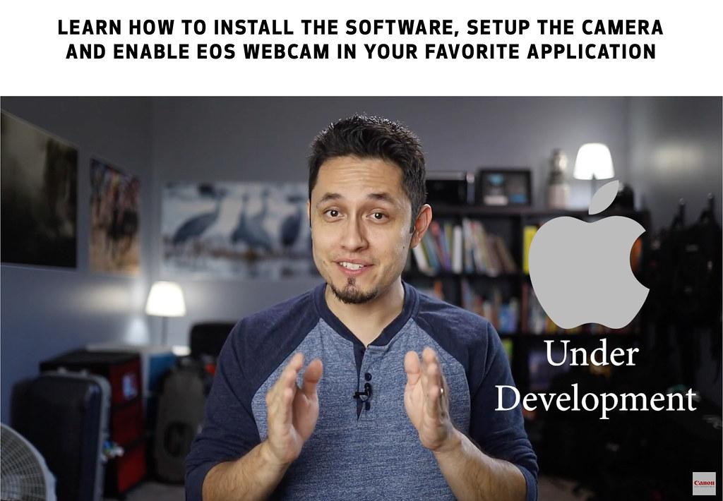 EOS WEBCAM Utility for Mac