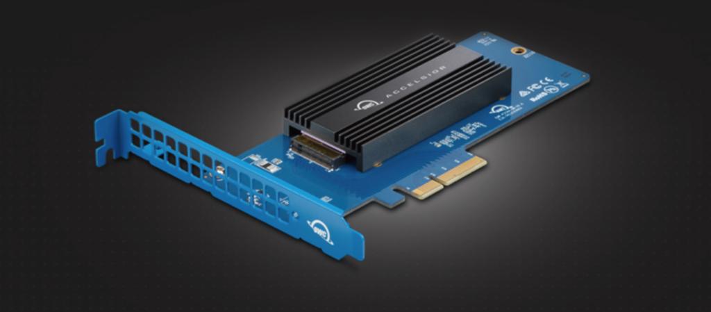 Mac Pro にSSDを増設できるOWC Accelsior 1M2