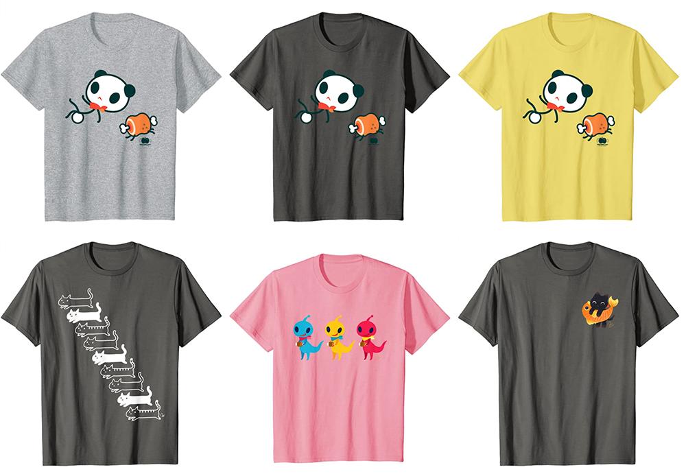 あさひな。さんのTシャツがAmazonで買える。