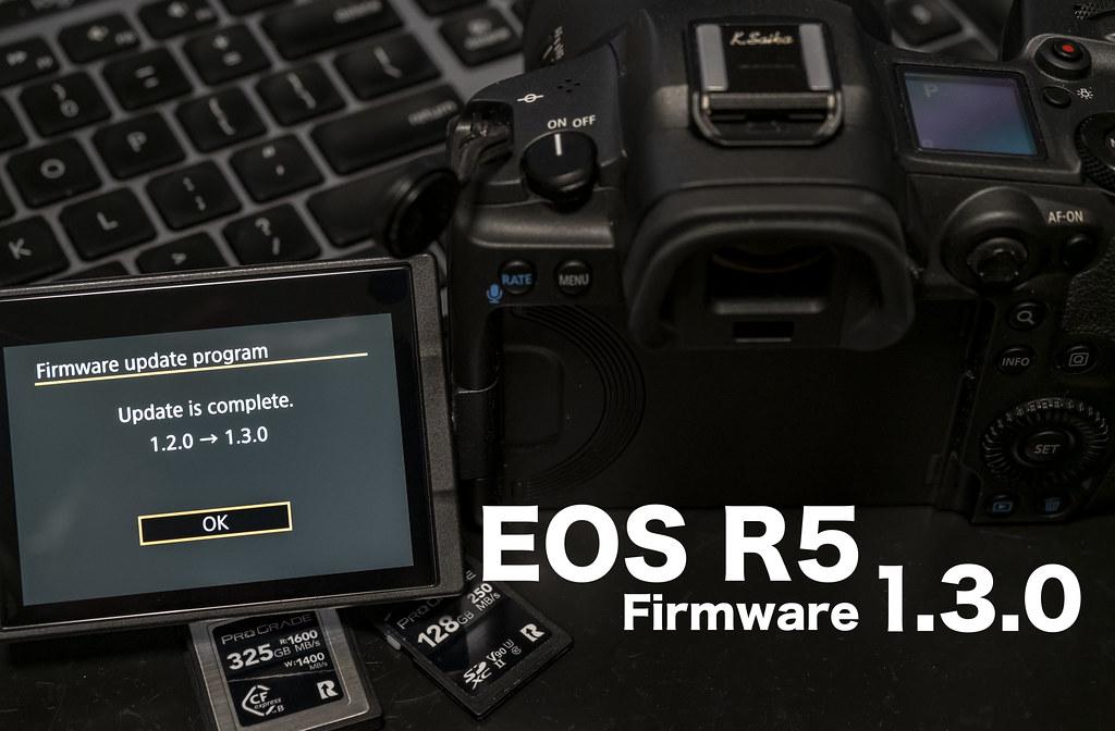 EOS R5 firmware130_01