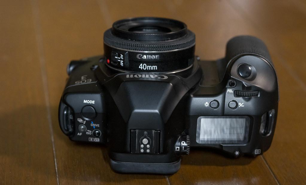 EF40mm F2.8 ディスコンへ