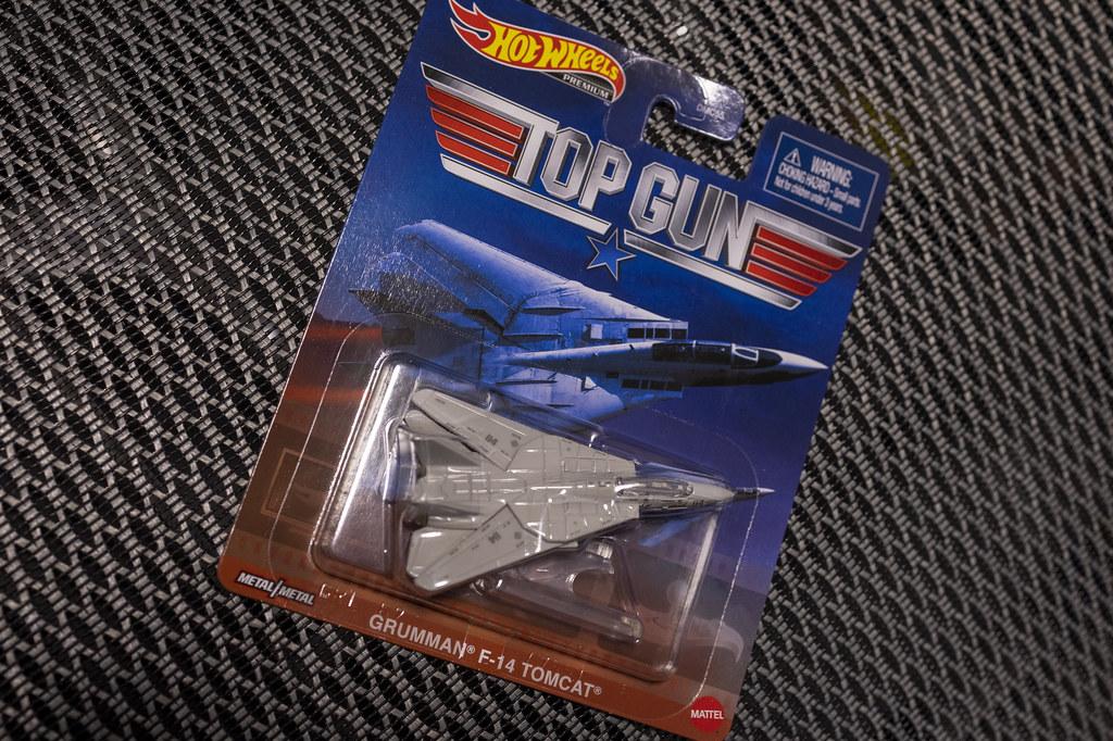 マテルのF-14 トムキャット:トップガンバージョン
