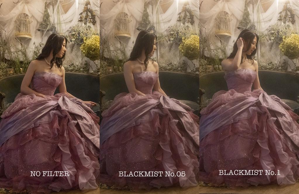 ブラックミストNo.05 / 1 比較と習作:室内ポートレイト