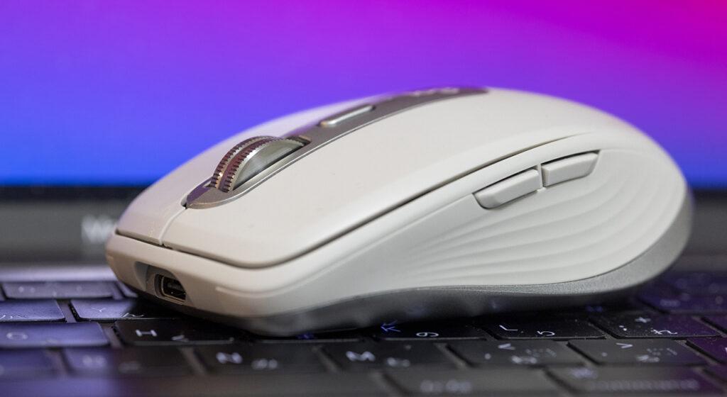 モバイル用マウスにMX Anywhere 3 for Mac