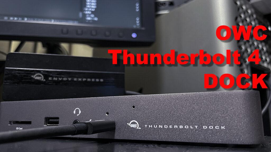 Thunderbolt 4 DOCKがTB3のMacでもアドバンテージがある理由