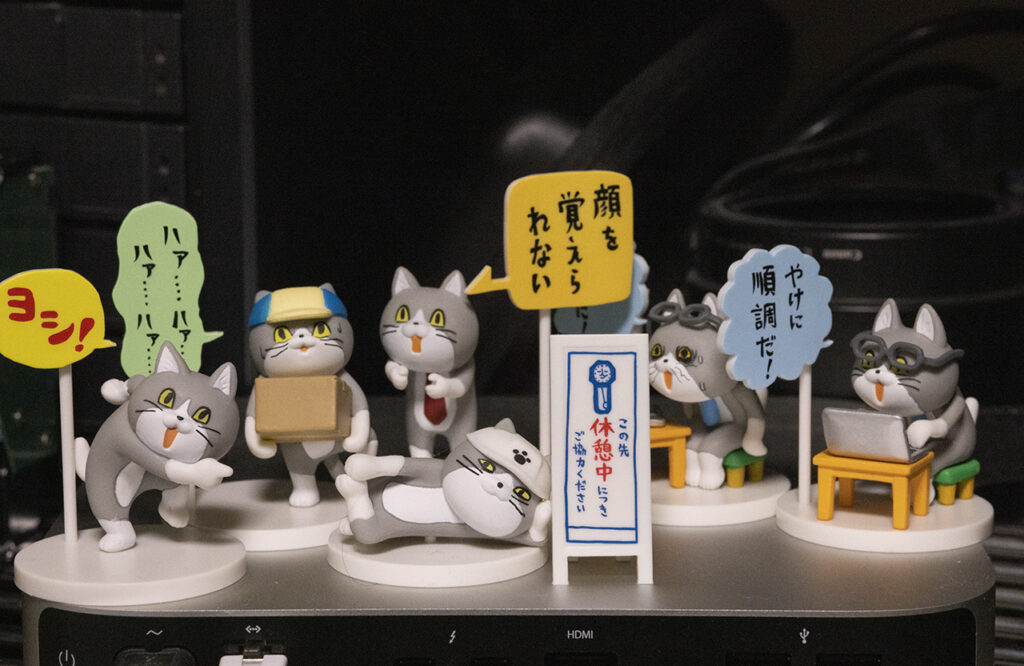 仕事猫3:無駄遣いとの非難は甘んじて受けるが後悔はしない