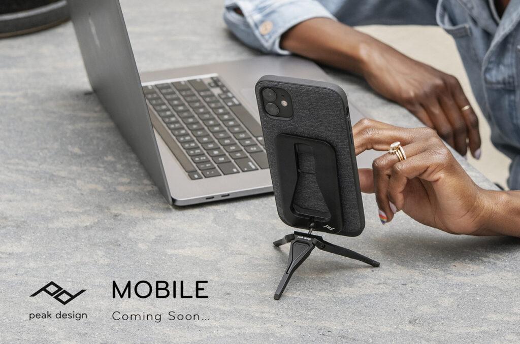 ピークデザイン MOBILE(モバイル)発売間近 ってマジか