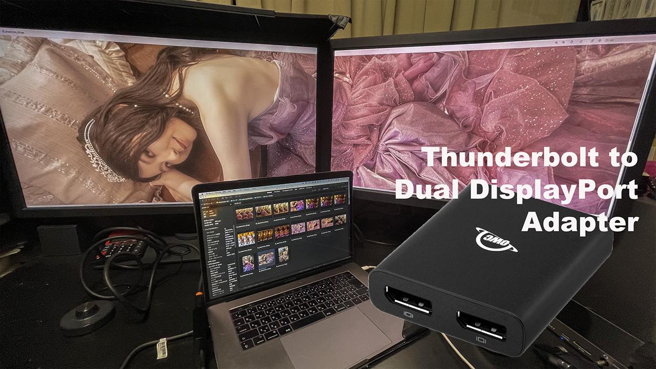 手軽に高性能なデュアルモニターを実現:OWC Thunderbolt to Dual DisplayPort Adapter