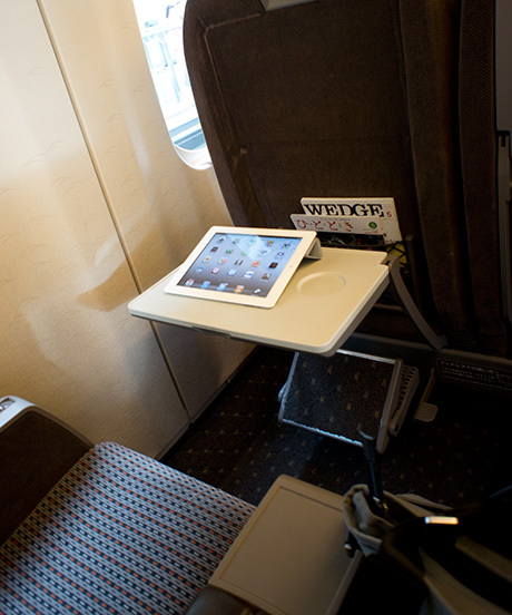 新幹線でiPad 2をWi-Fi接続するときに・・・