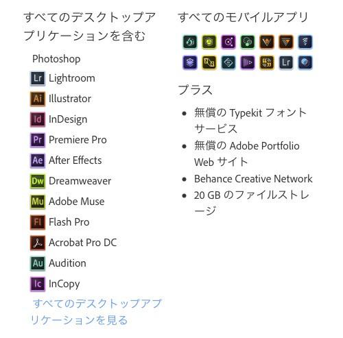 Adobe Creative Cloud 解約と再契約