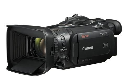 キヤノンの民生用ビデオカメラ 続く : iVIS GX10