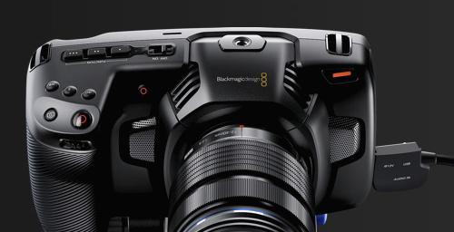 ポケットには収まらないけど Blackmagic Pocket Cinema Camera 4K