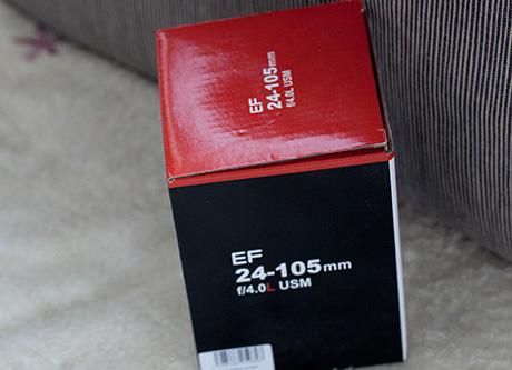 EF24-105mmF4L レンズカップ